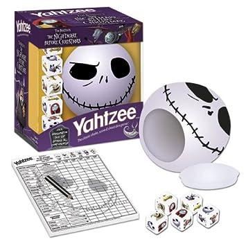 Yahtzee The Nightmare Before Christmas Jack, Board Games - Amazon ...