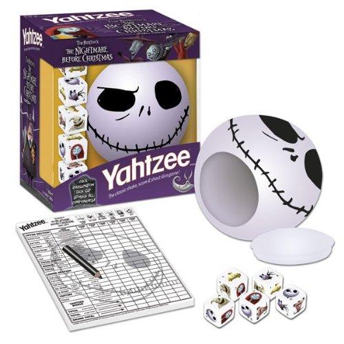 amazoncom yahtzee the nightmare before christmas jack game toys games - The Nightmare Before Christmas Games