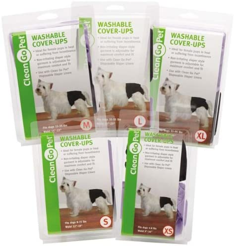 Clean Go Pet lavable para UPS, medio, negro/morado, 2-Pack: Amazon ...