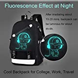 FLYMEI Anime Luminous Backpack for