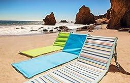 Picnic Time \'Beachcomber\' Portable Beach Mat, Blue