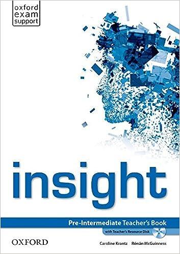 Insight Pre-Intermediate - Teacher's Book