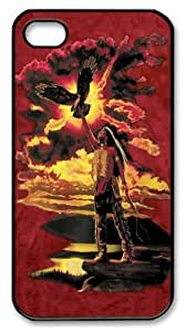 Gift of the Eagle Feather Custom iPhone 4s/4 Case Cover Polycarbonate Black by Maris's Diary