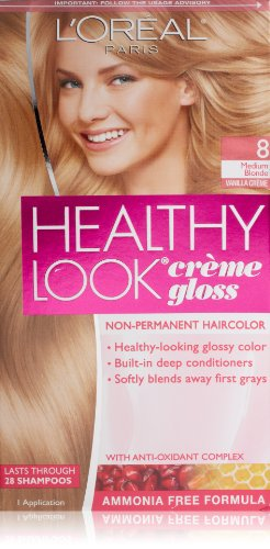 Healthy Medium Blonde Vanilla Cr%C3%A8me