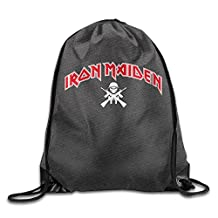 Iron Maiden The Book Of Souls World Tour Drawstring Backpack Sports Bag For Men And Women