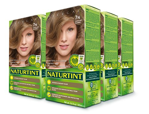 Naturtint Permanent Hair Color - 7N Hazelnut Blonde, 5.28 fl oz (6-pack) by Naturtint