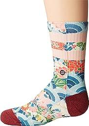 Stance Girls\' Ichiban Crew Socks, Multi, Large