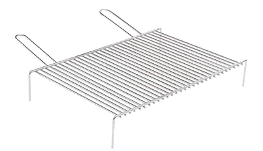 Graticola per Barbecue o Camino in Acciaio 18//C cm 35 x 70