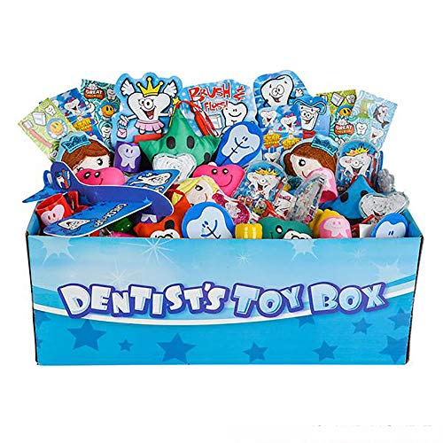 (Kicko Bulk Toy Assortment - 100 Pieces for Dental Treasure Chest - Perfect for Stress Reliever, Playset for Kids, Game Prizes, Easter Hunt, Novelties, Party Favor and Supplies)