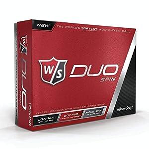Wilson Duo Spin Golf Balls White 1 Dozen from Wilson