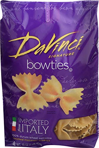 DaVinci Bowties Pasta, 16-Ounces (Pack of 12) (Da Vinci Pasta)