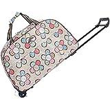 SBJ 旅行バッグ キャリーバッグ トロリーバッグ 軽量 女性 ボストンバッグ 旅行 ビジネス 【 ファスナーロック付 】