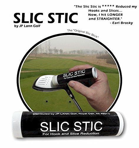 Golf Slic Stick Anti-Slice/Anti-Hook Compound for Clubs