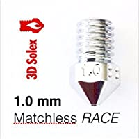 3D Solex UM2 Matchless Nozzle - 2.85mm Filament, 1.0mm RACE by 3D Solex