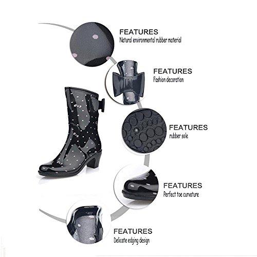 High ladies heel boots JAXIE rain rain shoes boots QQnvYUXUE shoes 1 XqIx5gn