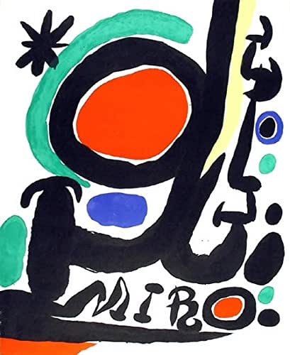 Amazon.com: Miro Retrospective: Joan Miro: Fine Art