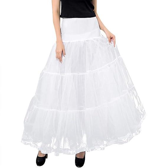 Tutu - Falda de Baile para Mujer de Gasa Tejida a Mano A-Blanc ...