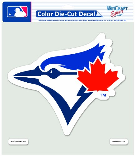 Toronto Blue Jays Die Cut (MLB Toronto Blue Jays 8-by-8 Inch Diecut Colored Decal)