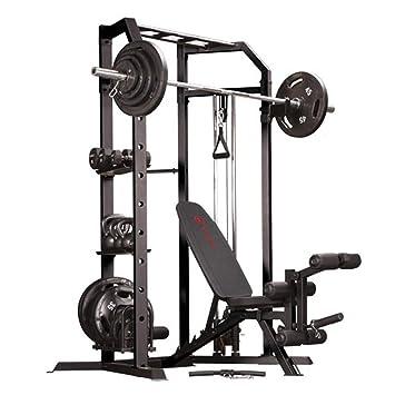 Marcy olímpico Strength sistema de jaula y multiusos utilidad ...