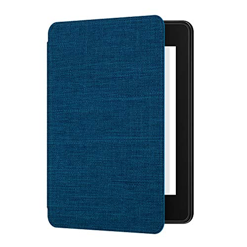 Ayotu Fabric Case for Kindle Paperwhite 2018 - Thinnest&Lightest Smart Cover with Auto Wake/Sleep - Fits Amazon The Latest Kindle Paperwhite(10th Generation-2018),K10 Blue