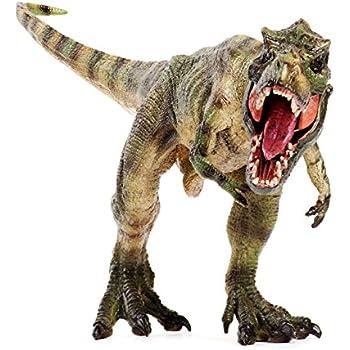 Amazon tyrannosaurus rex solid large dinosaur t rex figure toy lifeliko tyrannosaurus rex action figure dino toy altavistaventures Gallery