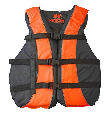 Hardcore Water Sports High Visibility USCG Approved Life Jackets for The Whole - Type Ski Vest