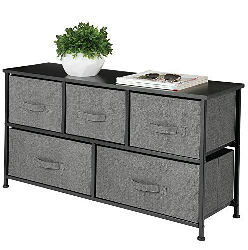 Hebel Extra Wide Dresser Storage Tower with 5 Drawers | Model DRSSR - 385 |