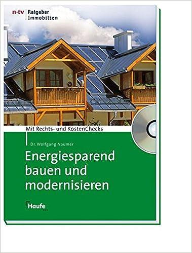 Energiesparend Bauen Und Modernisieren Mit Cd Rom Meine Immobilie