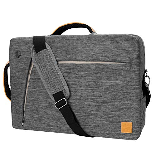 "(Multifunctional Laptop Message Bag for Dell Inspiron / G3 / G5 / XPS/Latitude/Vostro/Alienware/Precision/LG Gram – Series 15"" (Grey))"