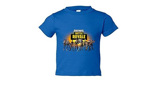 Camiseta niño Fortnite Battle Royale - Azul Royal, 12-14 años: Amazon.es: Bebé