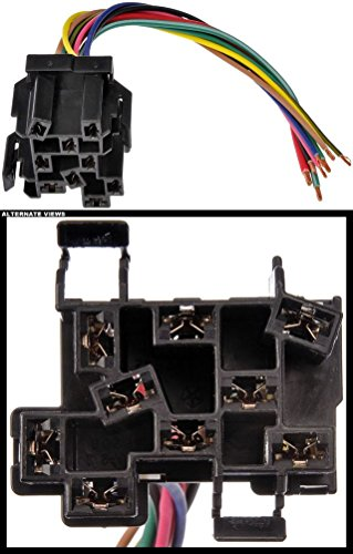 - APDTY 133905 Headlight Switch Electrical Wiring 9-Wire Harness Pigtail Connector Fits 1992-2001 Jeep Cherokee (Jeep XJ) 97-00 Wrangler 94-98 Dodge Ram 1500 2500 3500 Pickup 87-98 Dakota 98 Durango