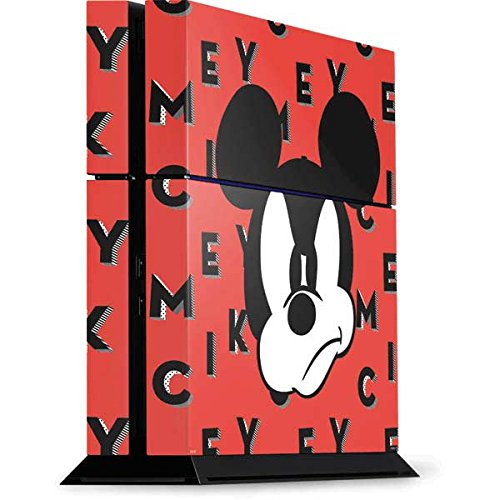 Mickey Mouse PS4 Console Skin - Mickey Mouse Grumpy | Disney & Skinit Skin