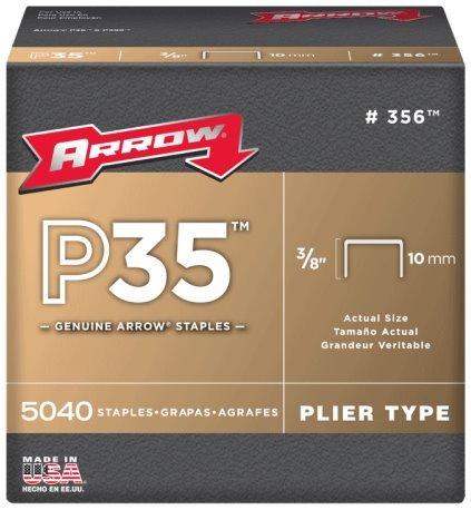 Arrow Fastener 356 3/8 P35 Staples
