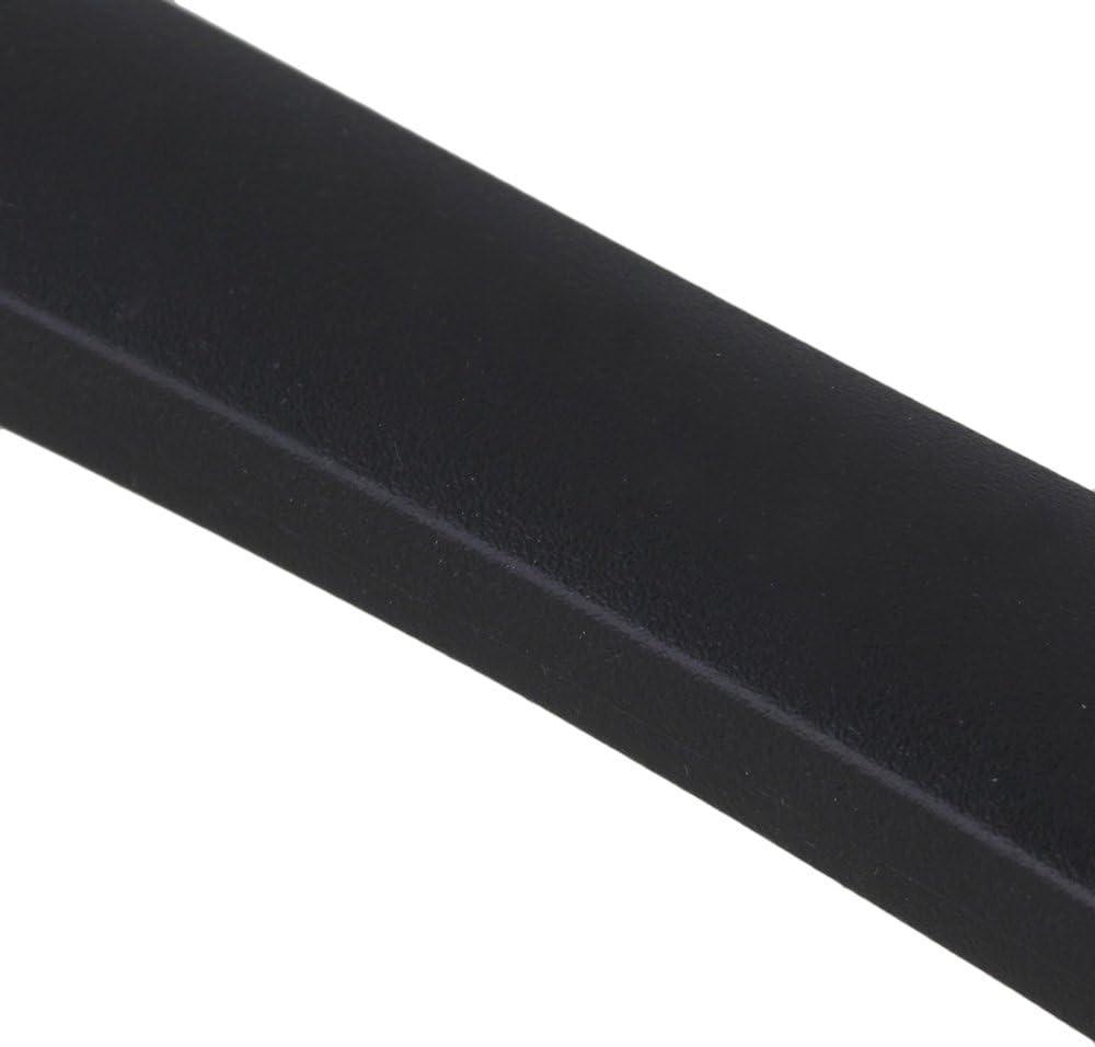 schwarz flexibel schwarz // silber 6.89 x 1.18 inch RDEXP Ersatzgriff f/ür Koffer