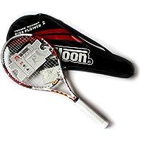 天龙火焰 网球拍 高级碳复合网拍(网球、避震器、手胶)