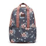 Women Oxford Nylon Waterproof Bags,Tote Shopping Bag,Larger Shoulder Bag,Cosmetic Bags Make up bag,School Backpack Travel Bag For Girl Student Women (I-Backpack-dark Grey)