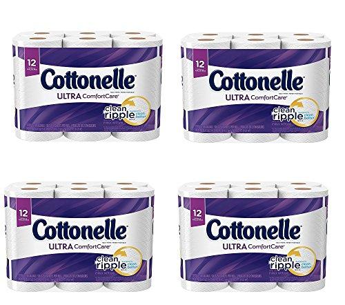 Cottonelle Ultra ComfortCare Toilet Paper EXrgzS, 48 Rolls by Cottonelle