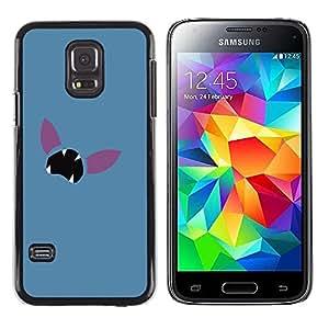 Stuss Case / Funda Carcasa protectora - Minimalist Poke Face - Samsung Galaxy S5 Mini, SM-G800