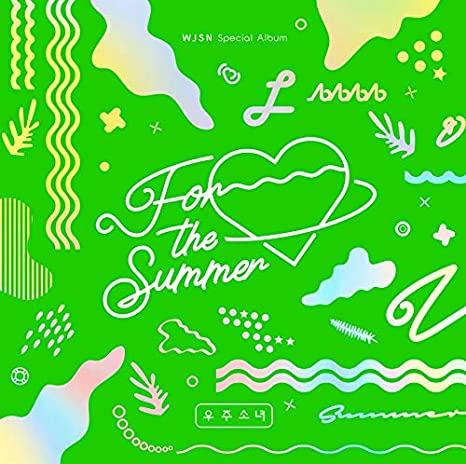 II ver. 8th Mini Album Starship Entertainment WJSN Cosmic Girls Neverland Album+Pre-Order Benefit+Folded Poster+Extra Photocards Set