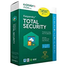 Kaspersky Total Security 2016 - 3 Users - 18 Months