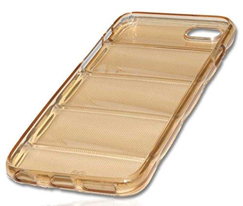 Silikon Case Handy Tasche Hülle für Apple iPhone 6 / Schutzhülle Handytasche barell brown