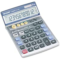 Sharp® Vx792C Portable Desktop/Handheld Calculator, 12-Digit Lcd