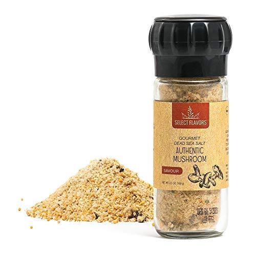 - Select Flavors Exotic Gourmet Porcini Mushroom Powder Seasoning 3.5 oz Grinder Top