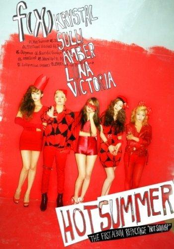F(X) [HOT SUMMER] VOL.1 1st Repackage Album CD+Photobook FX+Tracking Number K-POP SEALED