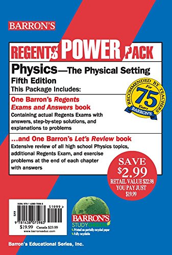 Physics Power Pack (Regents Power Packs)