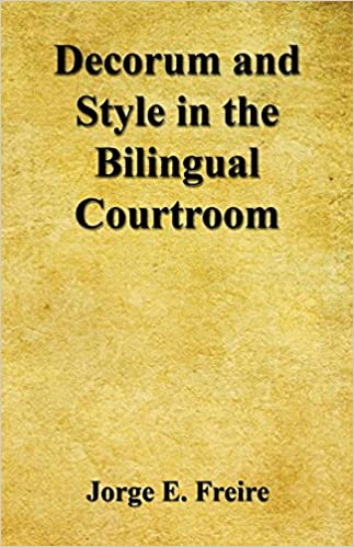 ''UPDATED'' Decorum And Style In The Bilingual Courtroom. focusing camera Titulo South sitta 51CfB4XZrOL._SX321_BO1,204,203,200_