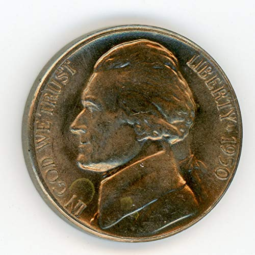 1950 D Jefferson Nickel MS-65