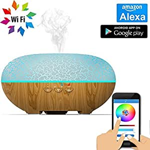 Amazon.com : Okela Ultrasonic Aroma Essential Oil Diffuser