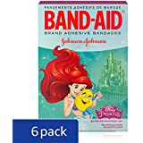 Band-Aid Brand Adhesive Bandages Featuring Disney Princesses For , Assorted Sizes, 20 Count (Pack of 6)