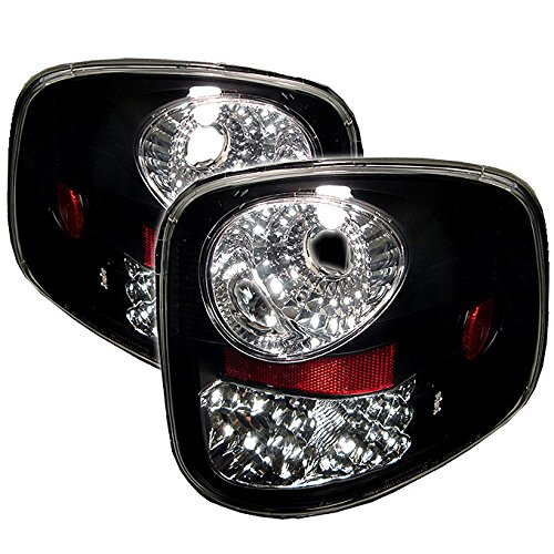 For 1997-2003 Ford F150 F-150 Pickup Truck Flareside Model LED Tail Lights Lamp Pair (03 F150 Flareside Tail Lights)